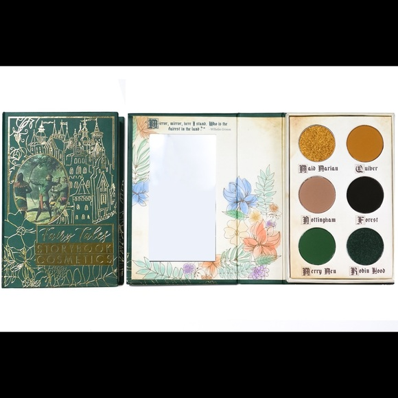Storybook Cosmetics Other - Storybook cosmetics - Robin Hood Palette